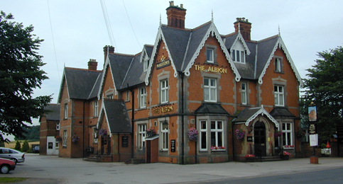 The Albion Pub at Burton on Trent
