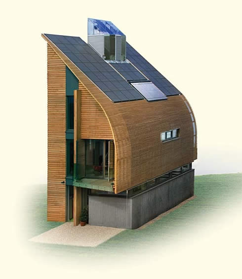 My scrapbook marsh flatts farm self build diary for Zero net energy home