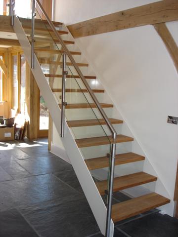 Hallway And Staircase Marsh Flatts Farm Self Build Diary