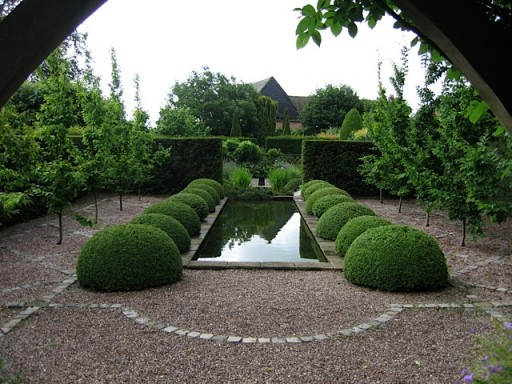 Formal Garden Water Feature 512 215 384 Marsh Flatts Farm