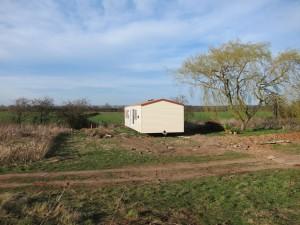 Willerby Villa static caravan delivery in final position