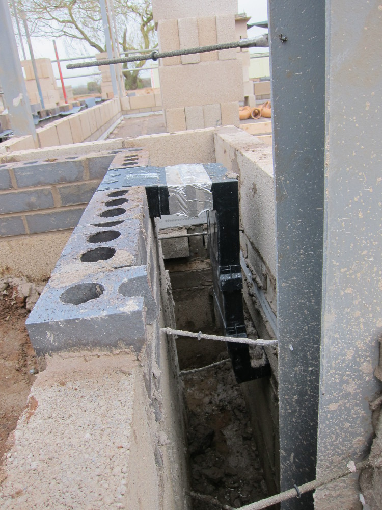 One of the vents for the void between the oversite concrete and the beam-and-block floor