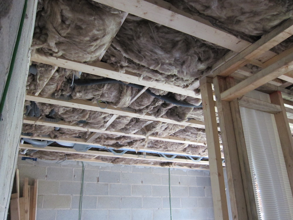 Room Acoustic Insulation : Electricity marsh flatts farm self build diary