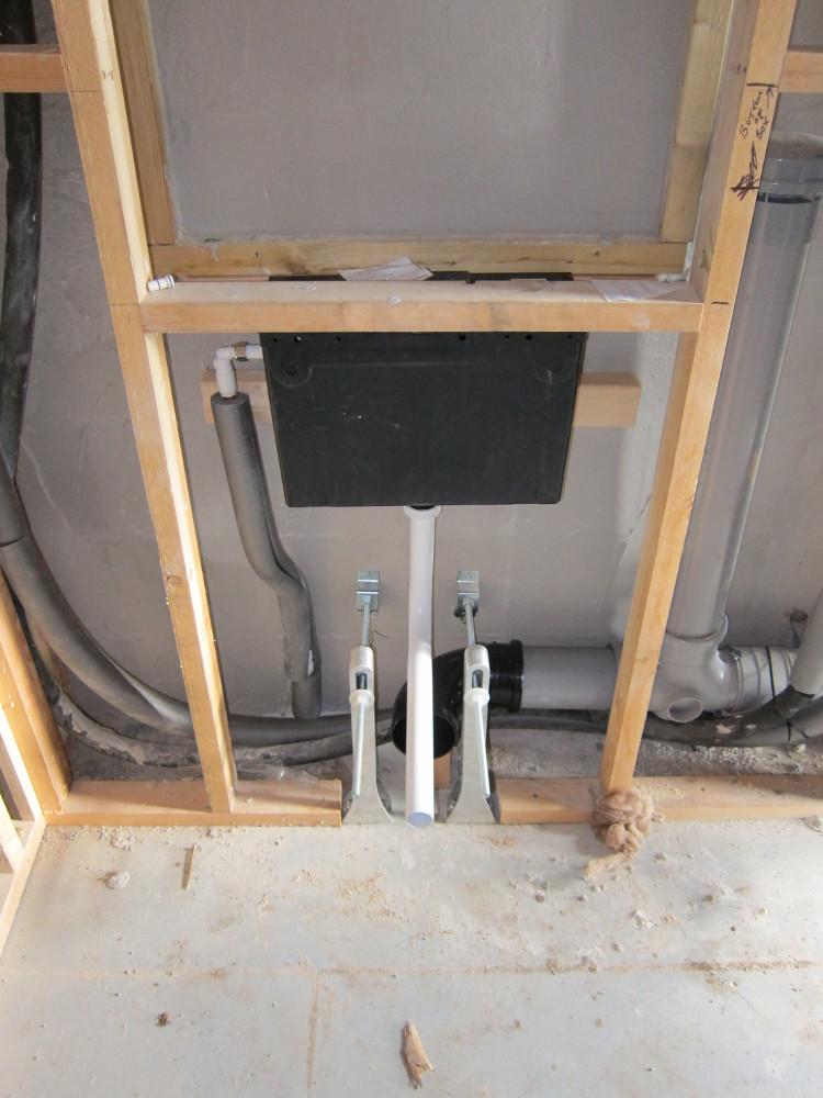 Concealed cistern in the Master Bedroom En-Suite