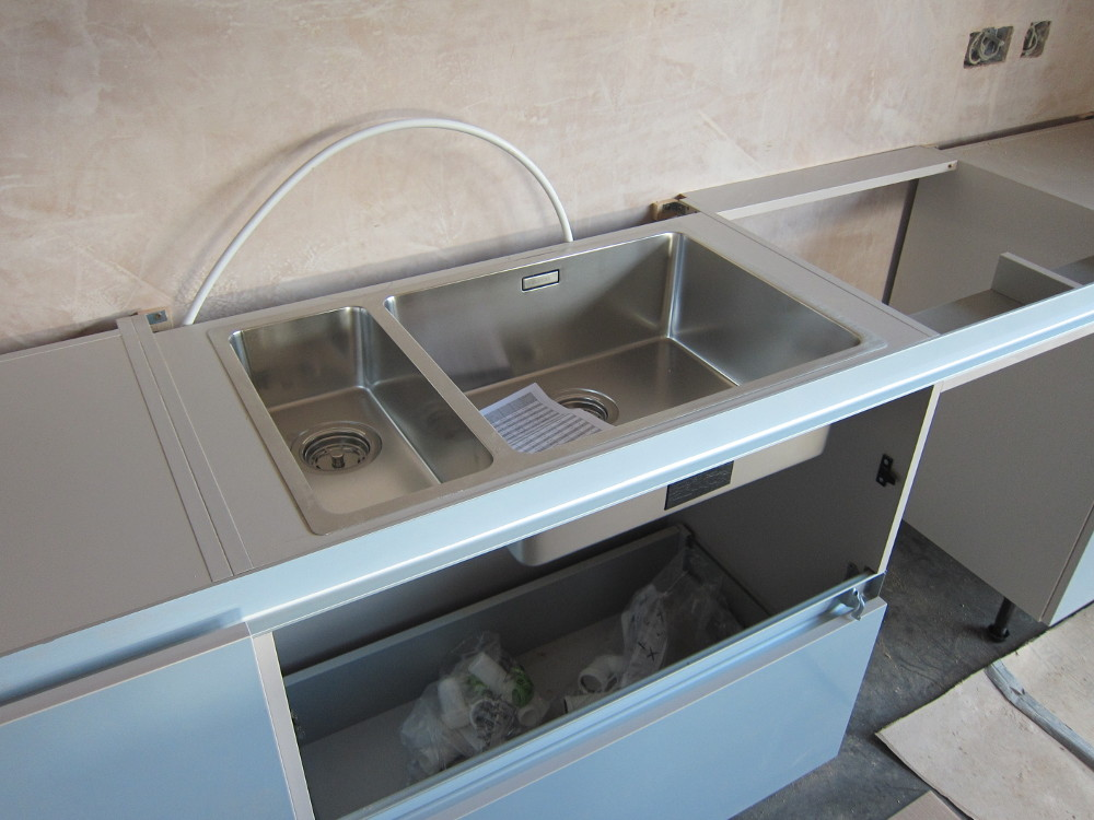 Main sink in the kitchen