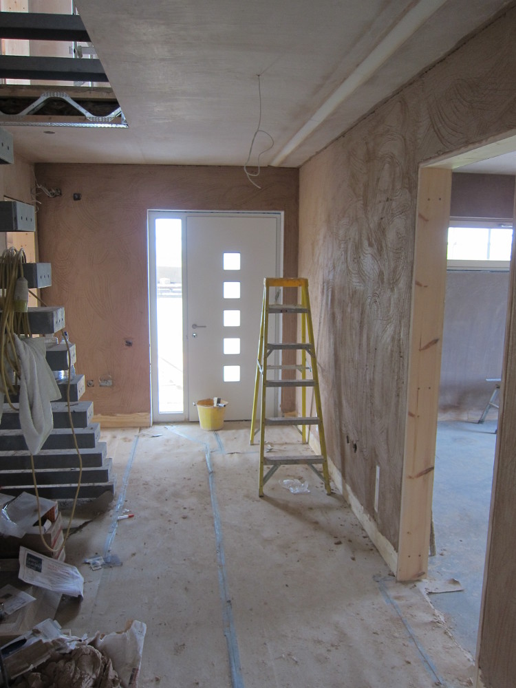 Plaster in the Hallway