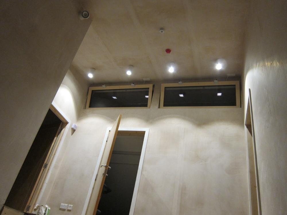 BPM TUBE ceiling lights on the Second Floor Landing
