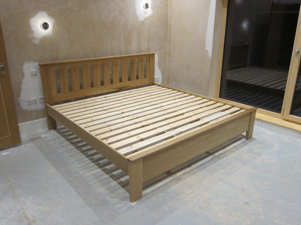 Bespoke Bed Frame for Master Bedroom | Marsh Flatts Farm Self Build ...