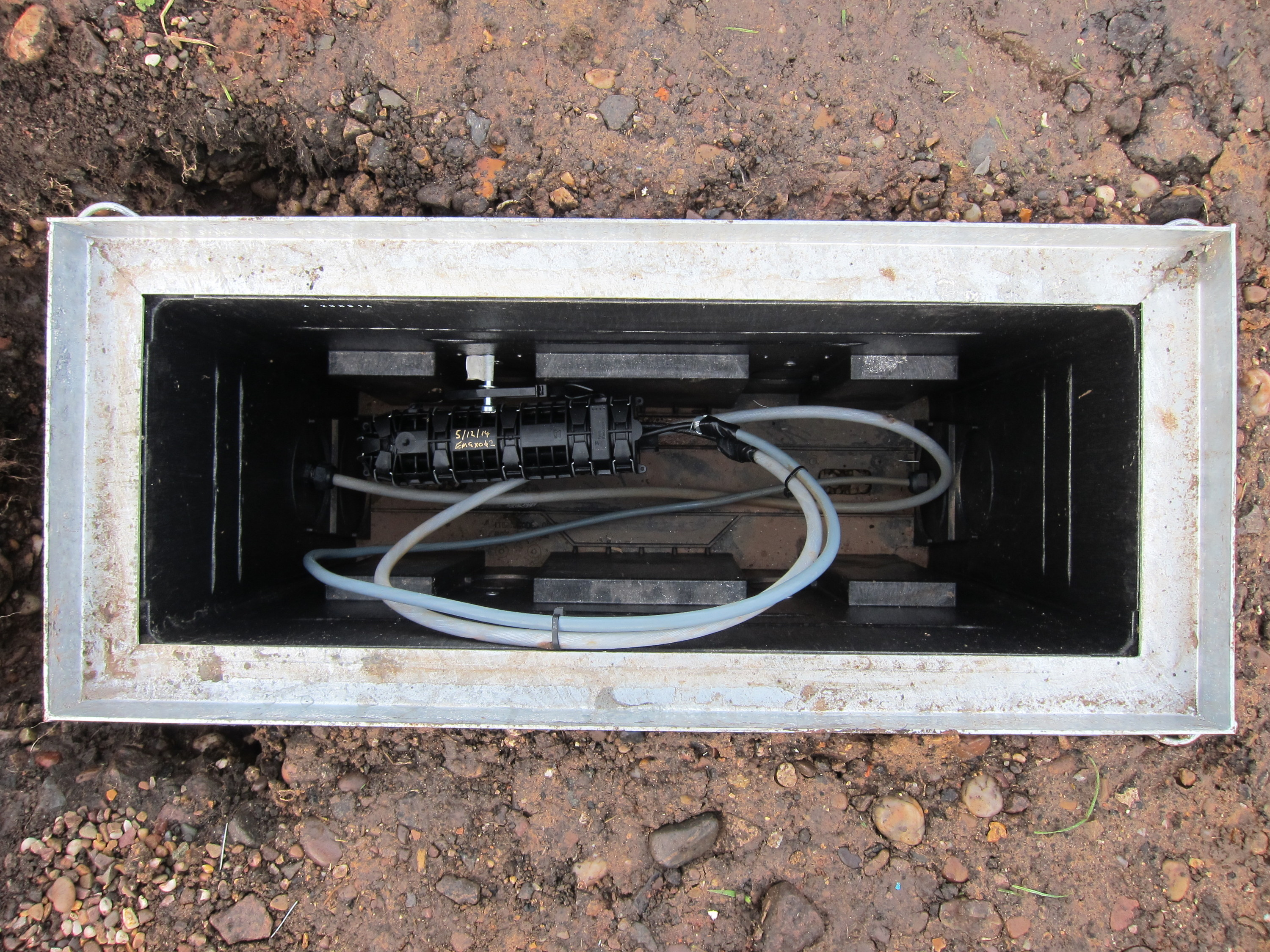 Reconnecting The Phone Line How Hard Can That Be Marsh Flatts Bt Connection Box Wiring Inside Of Jb 26 Showing Joined Cables